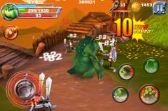 free iPhone app Monster Fight Pro
