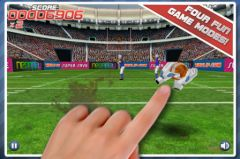 free iPhone app Pro Football Touchdown