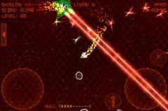 free iPhone app Alien Space Retro