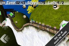 free iPhone app jAggy Race