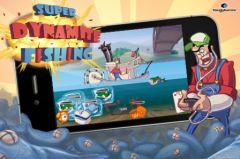 free iPhone app Super Dynamite Fishing