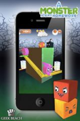 free iPhone app A Monster Ate My Homework
