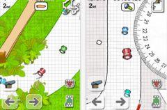 free iPhone app Doodle Kart