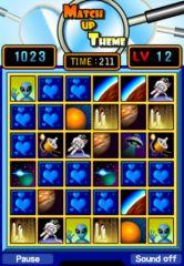 free iPhone app Match Up Theme