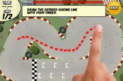 free iPhone app DrawRace - Turbo Edition