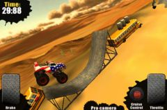 free iPhone app Monster Trucks Nitro with More Races!