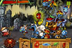 free iPhone app Panda vs. Zombies HD
