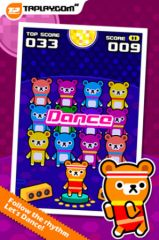 free iPhone app Donut Dance - Tappi Bear