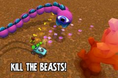 free iPhone app Mini Beasts HD