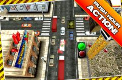free iPhone app Traffic Panic 3D