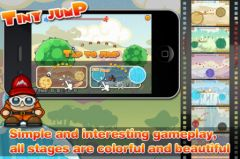 free iPhone app Tiny Jump