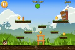 free iPhone app Abba Bola - Ball Game: the Addictive Action App