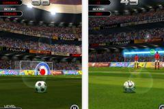free iPhone app Flick Soccer!