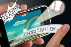 free iPhone app Flick Home Run