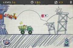 free iPhone app Doodle Truck