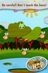 free iPhone app Ribbit Hop: the best puzzle adventure