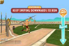 free iPhone app Olympic Games: Spartan Athletics