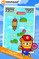 free iPhone app Tap Tap Spring - Tappi Bear