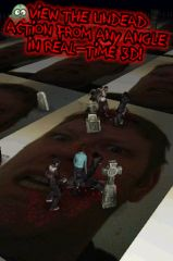 free iPhone app Finger Zombies