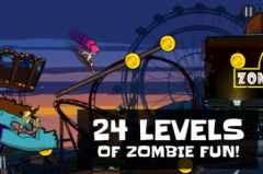 free iPhone app Zombie Parkour Runner