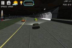 free iPhone app Race n Chase 3D Car Racing Game