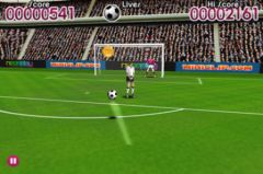 free iPhone app Flick Football