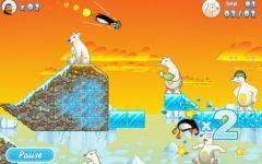 free iPhone app Crazy Penguin Catapult