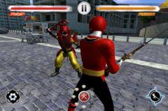 free iPhone app Power Rangers Samurai Steel