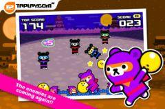 free iPhone app Bowling Ninja - Tappi Bear