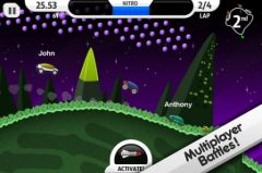 free iPhone app Lunar Racer