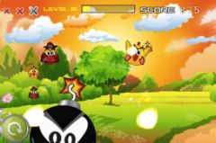 free iPhone app Bird Bash!