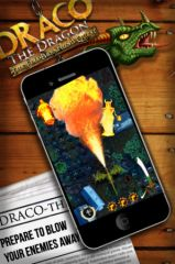 free iPhone app Draco The Dragon: The Fire-Breathing Quest!