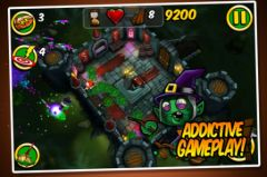 free iPhone app Zombie Wonderland 2: Outta Time!