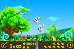 free iPhone app Duck Hunt Crazy