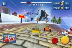 free iPhone app Sonic & SEGA All-Stars Racing