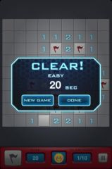 free iPhone app Minesweeper By Layer Studio