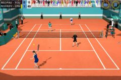 free iPhone app Flick Tennis: College Wars