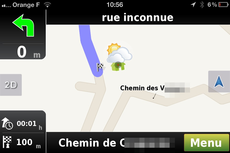 carte gps gratuite pour iphone
