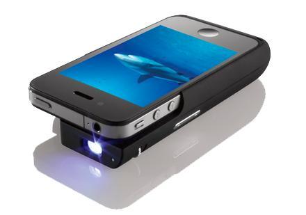Une coque video projecteur pour iPhone chez Texas Instrument