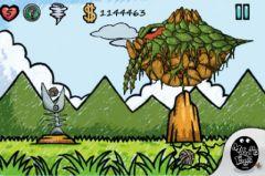 free iPhone app Alien : Doodle UFO