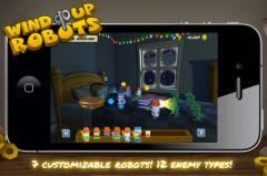 free iPhone app Wind Up Robots