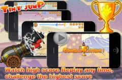 free iPhone app Tiny Jump