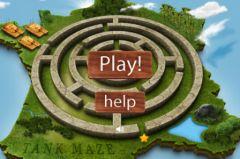 free iPhone app Tank Maze