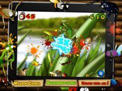 free iPhone app Ninja Bugs: PLUS!