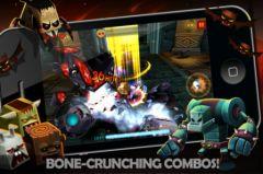 free iPhone app TinyLegends - Crazy Knight