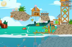 free iPhone app Angry Birds Seasons