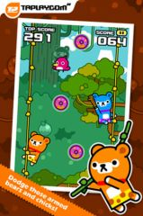 free iPhone app Tap Tap Jump - Tappi Bear