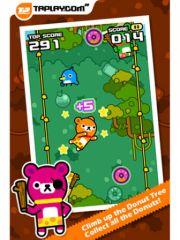 free iPhone app Tap Tap Jump - Tappi Bear
