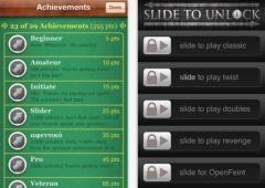free iPhone app Slide to Unlock