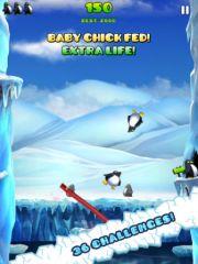 free iPhone app Penguin Palooza HD